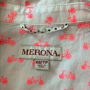 MERONA Bicycle shirt Button down